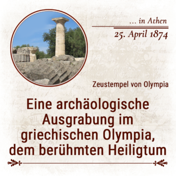 25. April 1874 in Athen